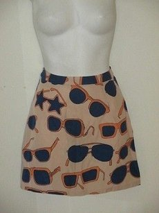 Other In God We Trush Sunnies Sunglass Print Mini 0 Skirt navy peach