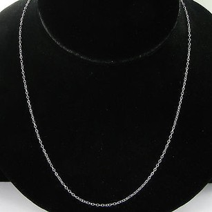 Monica Rich Kosann Charm Chain Necklace 30 18k White Gold