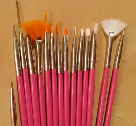 Other NEW: 15 Piece Nail Brushes!