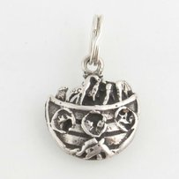 Noahs Ark Charm - Sterling Silver 925 Animals Bible Story Religious Jewelry