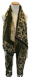 Other Olive Print Scarf
