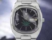 Other Omega Mens Seamaster With Cannabis Dial 1970s Automatic Swiss Watch 7128