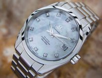 Other Omega Seamaster Aqua Terra Co Axial Chronometer Diamond Dial Watch C 2010 N3