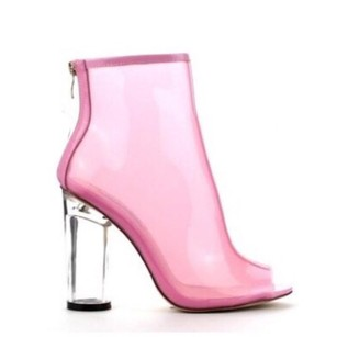 Pink Jelly Boots