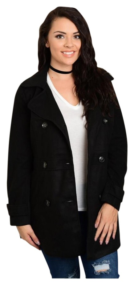 plus size pea coats - up to 90% off at tradesy