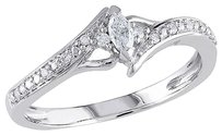 Other 10k White Gold Diamond Fashion Ring 16 Ct Tdw Cttw G-h I2-i3