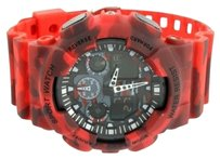 Other Red Camouflage Mens Watch Shock Resistant Sports Army Military Digital Analog