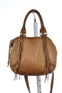 Linea Pelle Collection Womens Satchel in Tan