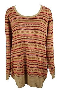 Persona Striped Womens Sweater