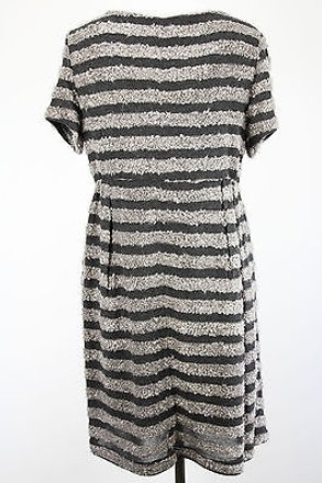 183a7b77edf 70%OFF Poems Striped Womens Dress Grey Polyester Blend -  18271324 -  Cocktail Dresses