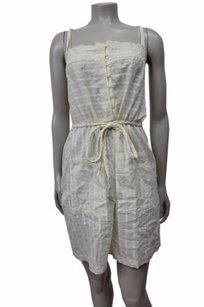 short dress Cream Feather Bone Jacada Chemise on Tradesy