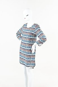 short dress Multi-Color Marie Oliver Tassle Blue on Tradesy