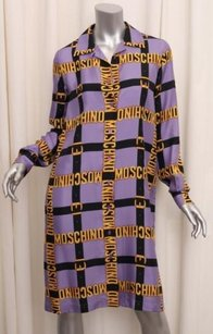 short dress Purple Moschino Couture Womens on Tradesy