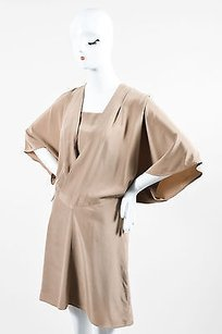 short dress Taupe Bui De Barbara Bui Silk on Tradesy
