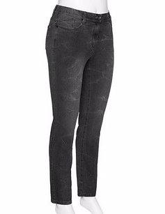 Other Samoon By Gerry Weber Grey Washed Stretch Fit 220660ae Skinny Jeans