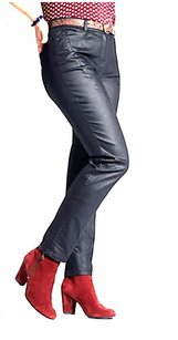 Other Samoon By Gerry Weber Navy Blue Coated 220663e Skinny Jeans