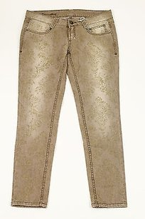 Carlo Chionna Womens Slim Fit Pants