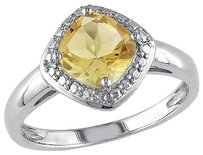 Other Sterling Silver 1 14 Ct Tgw Citrine Fashion Ring