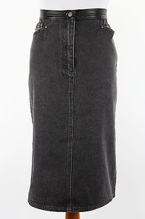 Other Caractere 1825a10731 Black Straight Pencil Womens Skirt NERO