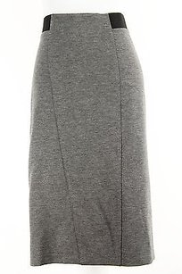 Other Emme Marella 50560219 Stretch Knit Womens Skirt Grey