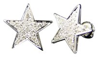 Other Mensladies Star Shape 12 Mm Diamond Xl Stud Earrings
