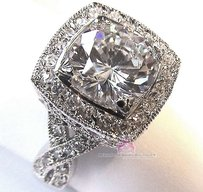 Stunning Engagement Prom Wedding Ring All Sizes