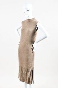 short dress Brown Sally Lapointe Nwt Taupe on Tradesy