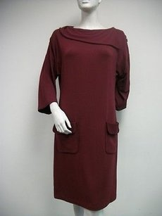 short dress Reds True Vine Funnel Neck Knit on Tradesy