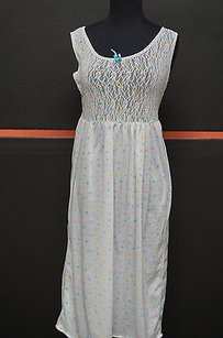 Other Taryn Alexander White Whearts Sleeveless Nightgown M So Soft Bin 495