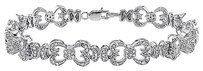Sterling Silver Diamond Accent Tennis Bracelet 1 Ct H-i I3 7