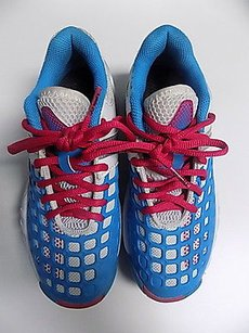 Other Yonex Lace Up Tennis Rubber B3485 Blue White And Pink Athletic