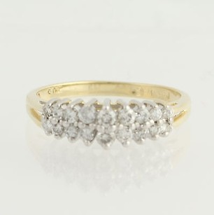 Other Tiered Diamond Ring - 14k Yellow White Gold Anniversary .50ctw