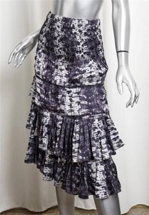 Isabel Marant Hm Snake Skirt Purple