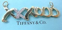 Tiffany Co Paloma Picasso Large Xo Diamond Pendant