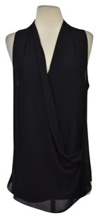 Other Pookie Sebastian Womens Sleeveless Casual Shirt Top Black