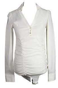 Good Toy G Womens Top white
