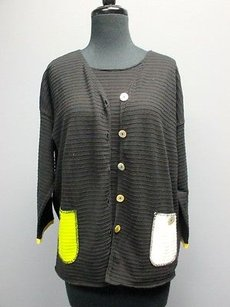 Other Margaret Scoop Neck Tank Button Up Cardigan Set Ml 2771 Sweater