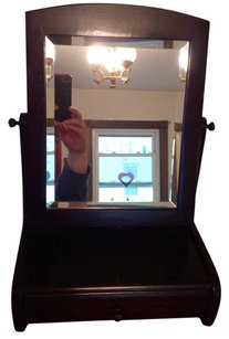 Vanity Mirror with Jewelry Holder