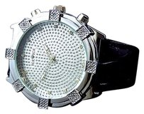 Mens Stainless Steel Element Series Genuine Diamond Watch From Icetime .12 Ct