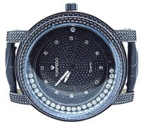 Ice Time Torpedojoerodeojojino Iced Out Band Floating Real Diamond Watch