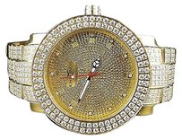 Khronosjoe Rodeo Row White Stone Bezel Custom Iced Out Band Diamond Watch 316