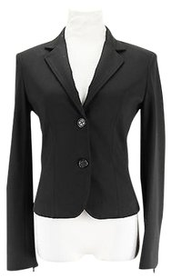 Whos Who Womens Suit Black Viscose Blend -
