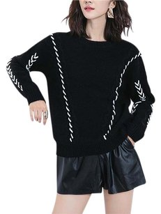Other Wool Long Sleeve Knitwear Runway Sweater