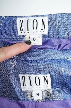 Zion York- Blue Acetate Skirt Suit Design #13967884 - Skirt Suits free shipping