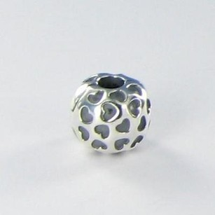 PANDORA Pandora 791037 Clip Bead Charm Showered With Love Sterling Silver