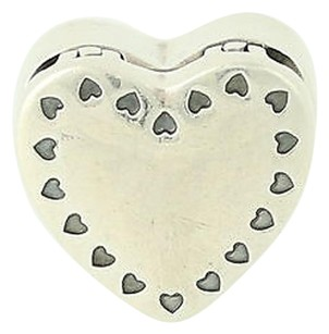 PANDORA Pandora Bead Charm - Sterling Silver 14k Gold Gift From The Heart 791247cz