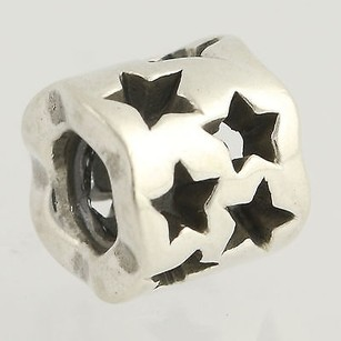 PANDORA Pandora Bead Charm - Sterling Silver 790348 Seeing Stars Retired Ale 925