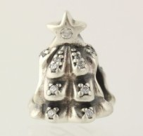 PANDORA Pandora Bead Charm Sterling Silver Tree Of Lights Cz 791239cz Ale