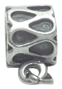 PANDORA Pandora Charm Holder Sterling Silver Damaged Missing Charm