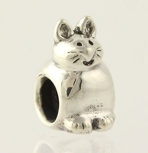PANDORA Pandora Charm - Kitty 790284 Sterling Silver Retired 925 Ale Bead